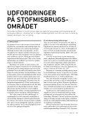 udfordringer på stofmisbrugsområdet - Page 2