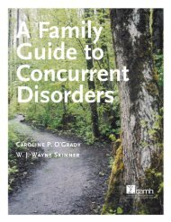 A family guide to concurrent disorders - CAMH Knowledge Exchange