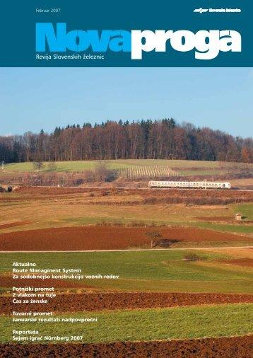 Februar (.pdf, 1010 kB) - Slovenske železnice