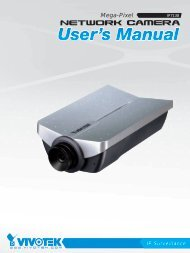 Vivotek IP7138 Manual - CCTV Cameras
