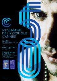 Semaine de la critique 2011 - Cinémathèque de Corse