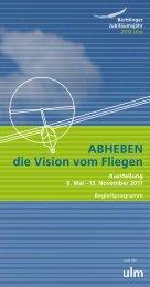 ABHEBEN die Vision vom Fliegen - Berblinger - Ulm