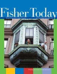 Spring/Summer 2011 - Fisher College