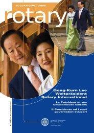 Download Magazin Juli/August 2008 (PDF 2,7 - Rotary Schweiz