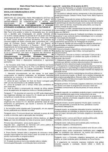CCA-0287 - ECA - USP