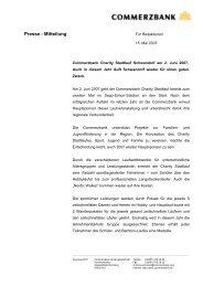 Presse - Mitteilung