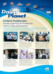Dairy Planet - Issue 27 - Fonterra Foodservices