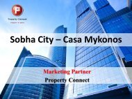 Sobha City – Casa Mykonos - Property Connect Search