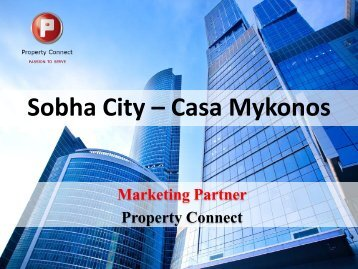 Sobha City – Casa Mykonos - Property Connect Search