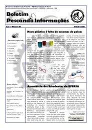 Assembléia dos Estudantes da UFERSA Novo plástico é feito de ...