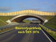 Bauwerksprüfung nach DIN 1076 - VSVI MV