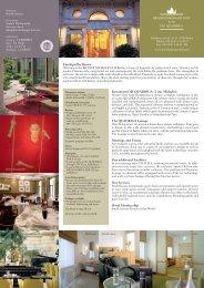 Reservation Email - Brandenburger Hof