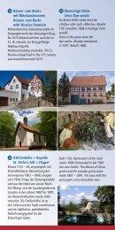 Historischer Stadtrundgang - Stadt Bräunlingen