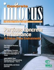 Pervious Concrete Performance - National Ready Mixed Concrete ...