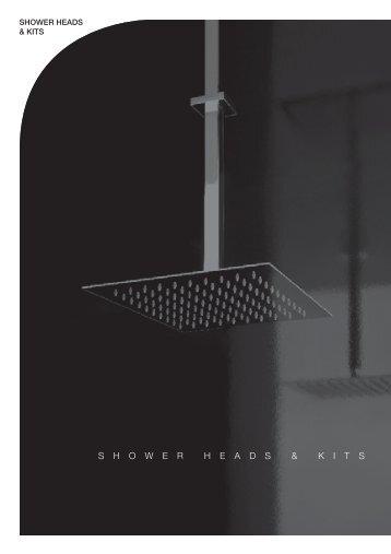 Gessi Emporio shower heads & kitshot! - Perrys Bathrooms