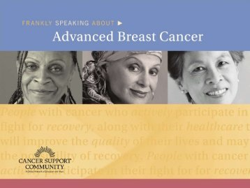 here - Metastatic Breast Cancer Network