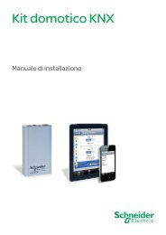 Kit domotico KNX - Schneider Electric