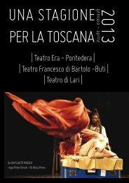 Una stagione per la Toscana 2013 - Comune di Pontedera