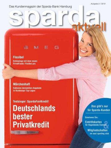 Deutschlands bester Privatkredit - Sparda-Bank Hamburg eG