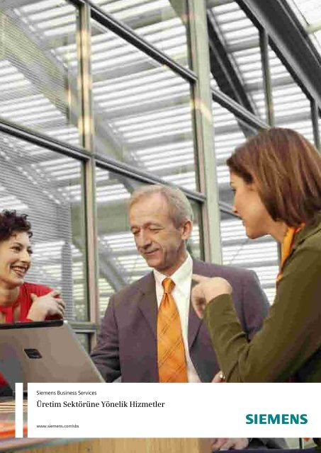 Üretim Sektörüne Yönelik Hizmetler - Siemens