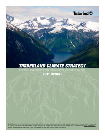 timberlands corporate social responsibility essay No one preaches corporate responsibility quite like timberland's jeff swartz but with his company's revenue soft and the stock price tumbling, is his own job sustainable.