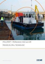 POLLCRAFT - Multipurpose clean-up craft - Desmi