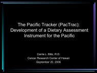 The Pacific Tracker (PacTrac)