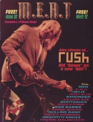 Canada's #1 Rock Act! Rush - Cygnus-X1.Net