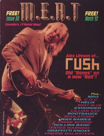 Canada's #1 Rock Act! Rush - Cygnus-X1.Net
