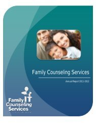 funding - Family Counseling Services of Greater Miami