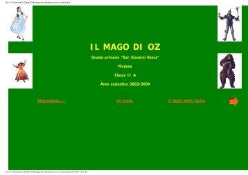 IL MAGO DI OZ - Comune di Modena