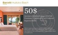 Huatulco Beach - Barcelo.com