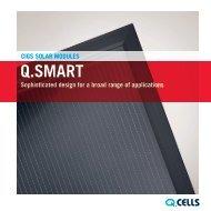 q.smart solar modules