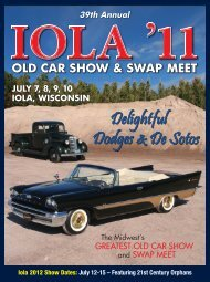 The Iola Old Car Show - F+W Media