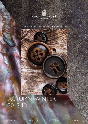 Download trendletter autumn / winter 2012 / 13 - Knopf und Knopf