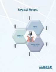 Surgical Manual - Biomet 3i