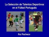 La Selección de Talentos Deportivos en el Fútbol Portugués