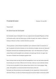 Produkteinformation Granatapfel - Weleda