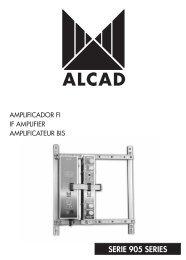 SERIE 905 SERIES - Alcad