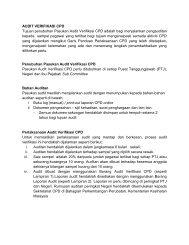 Lampiran audit verifikasi CPD - MyCpd - Kementerian Kesihatan ...