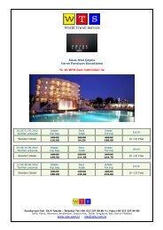 Sisus Otel fiyat listesi için tıklayınız