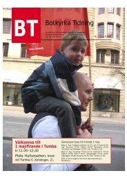 Länk till Botkyrka Tidning 2/2008 i pdf-format - Socialdemokraterna