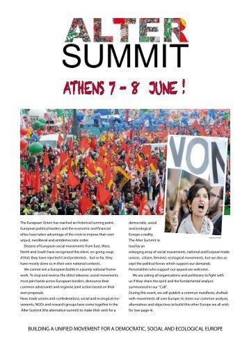 Alter Summit Folder - Transform Network