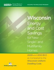 Wisconsin - Building Energy Codes