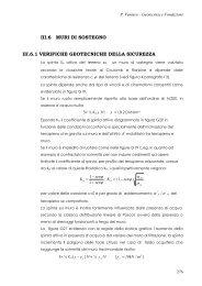 III.6 MURI DI SOSTEGNO III.6.1 VERIFICHE GEOTECNICHE DELLA ...