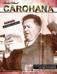 REVISTA CULTURAL CAROHANA 3