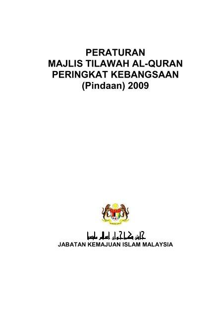 Peraturan Majlis Tilawah Al-Quran Peringkat Kebangsaan - Jabatan ...