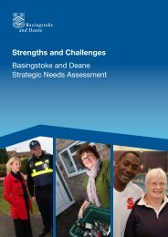 Strengths and Challenges - Basingstoke and Deane Borough Council
