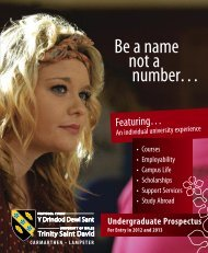 Be a name not a number… - Study in the UK