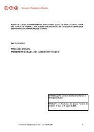 pliego de cláusulas administrativas particulares que ha de regir la ...